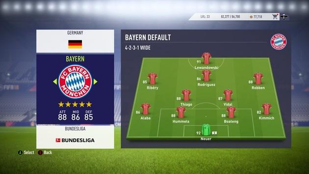 Formação Contra-ataque - FIFA 18