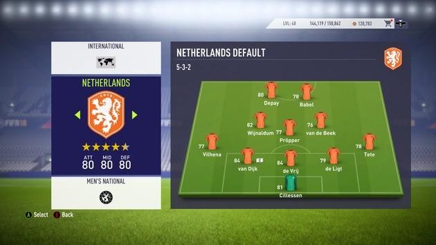 Bola Longa (5-3-2) - FIFA