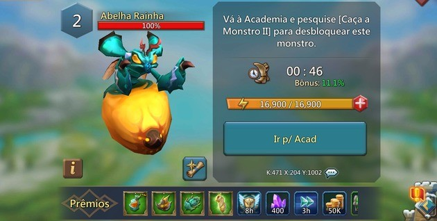 abelha rainha lords mobile