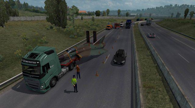 acidentes aleatórios mod euro truck