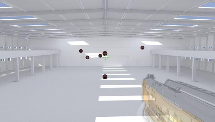 Jogos para melhorar reflexo e mira - 3D Aim Trainer