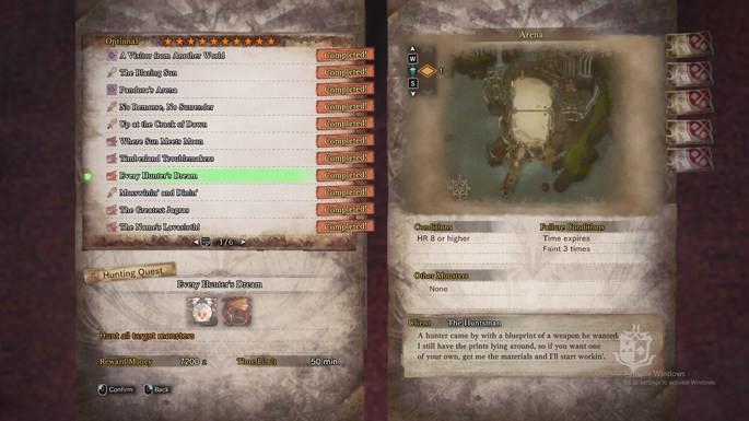 Melhores modos de Monster hunter World