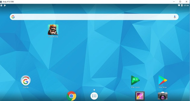 andyos emulador android pc fraco