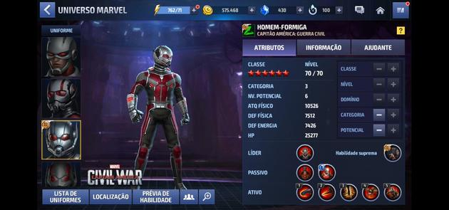 Marvel Future Fight - Homem Formiga
