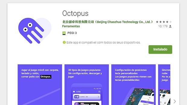 App Octopus, Polvo