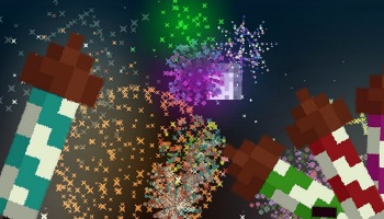 Aprenda como fazer facilmente fogos de artifício no Minecraft
