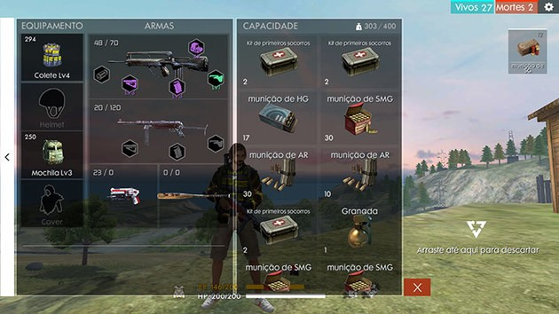 Arma ideal Free Fire