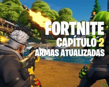 Conheça todas as armas do Fortnite Capítulo 2