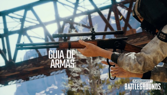 Super guia de todas as armas do PUBG