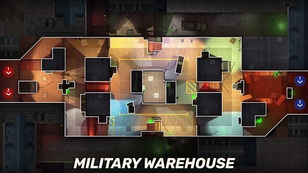 armazem militar mapa GOB