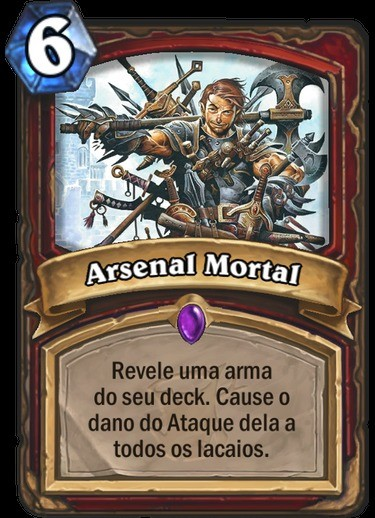 Arsenal Mortal - Hearthstone