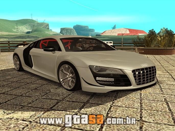 Audi carros GTA San Andreas