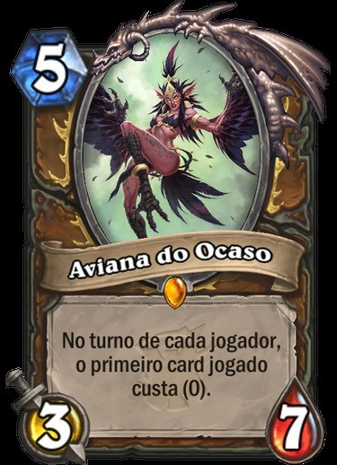 Aviana do Ocaso - Hearthstone