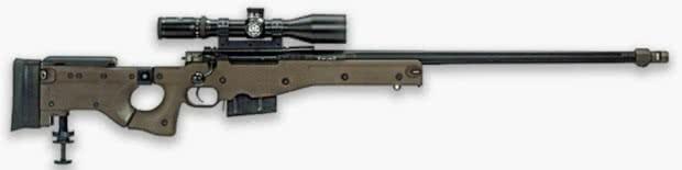 AWM - Melhores armas PUBG