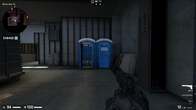 Banheiros - Vertigo