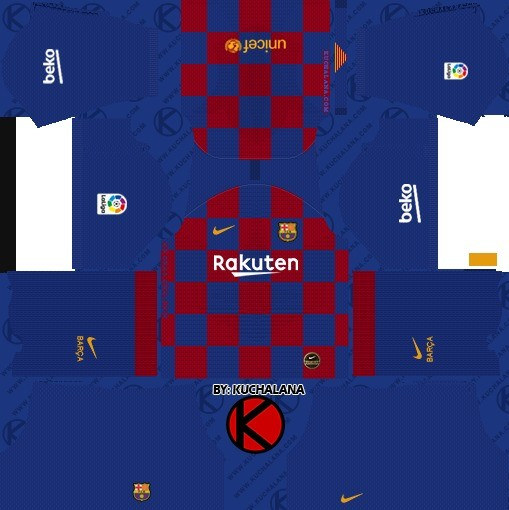 Barcelona Dream League Soccer Kit