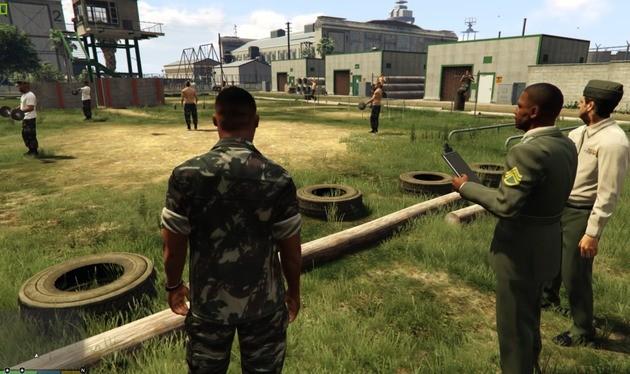 Base Militar Brasileira mod de GTA V