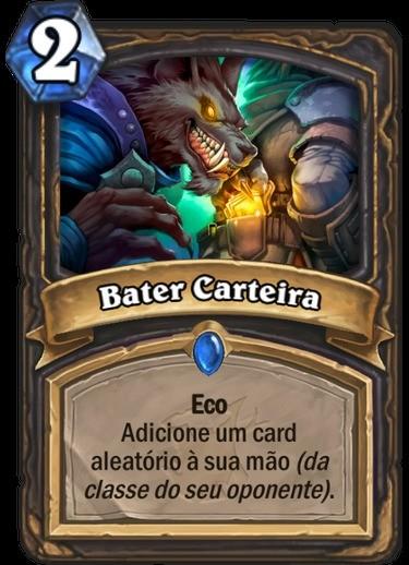 Bater Carteira - Hearthstone