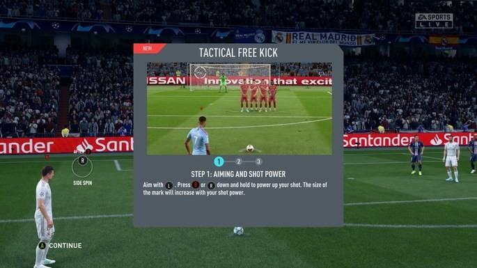 Bater falta FIFA 20 novo sistema