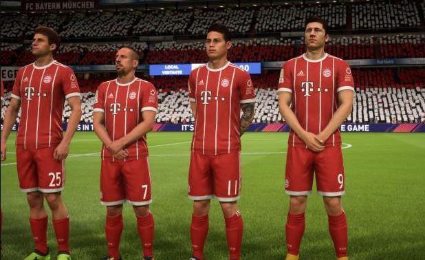 FC Bayern - FIFA 18