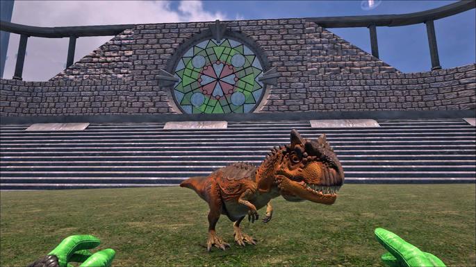 bebê dinossauro ark survival