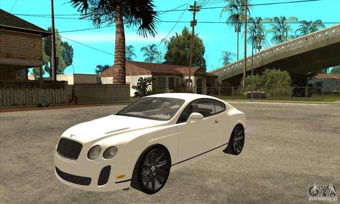 Bentley GTA San Andreas carros