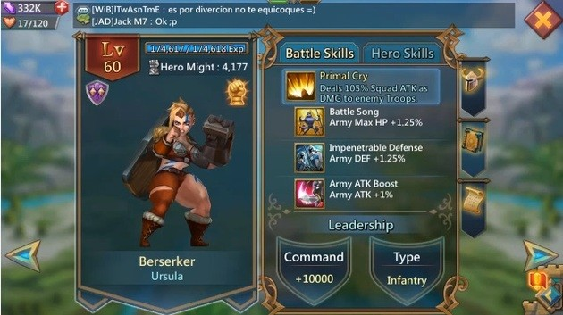 berserker - lords mobile