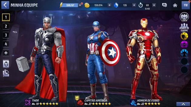 MFF: Captain America, Thor, Iron Man