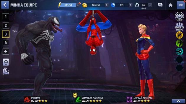 MFF: Venom, Captain Marvel e Venom