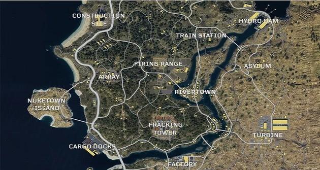 Mapa - Blackout