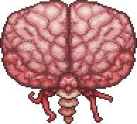 Brain of Cthulhu - Terraria