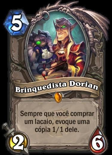 Brinquedista Dorian - Hearthstone