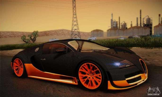 Bugatti GTA SA Carros