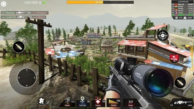 Bullet Strike: Sniper Games