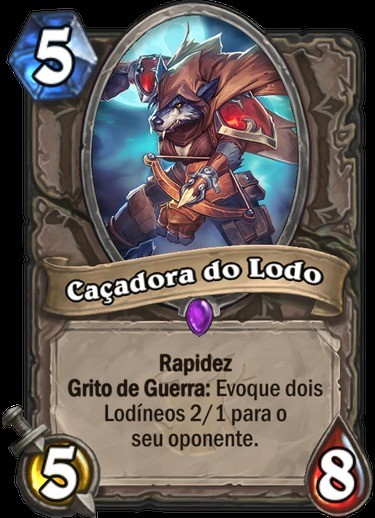 Caçadora do Lodo - Hearthstone