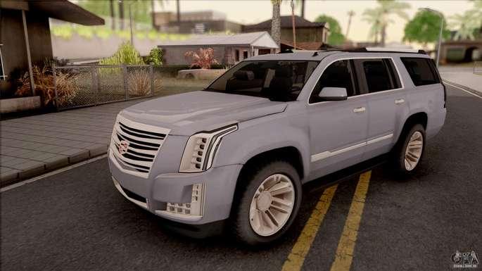 Cadillac Carros GTA SA