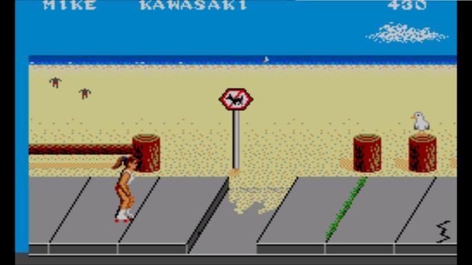 California Games Mega Drive