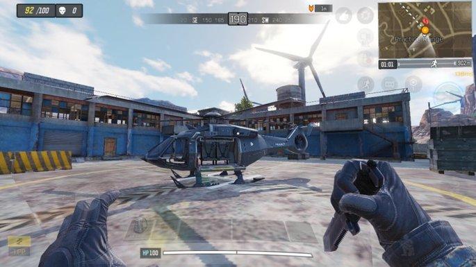 Call of Duty Mobile - Helicóptero - Estande de Tiro 2