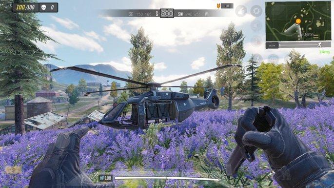 Call of Duty Mobile - Helicóptero - Estate