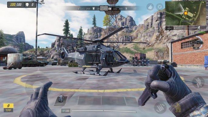 Call of Duty Mobile - Helicóptero - Killhouse
