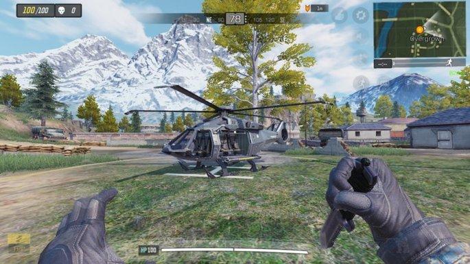 Call of Duty Mobile - Helicóptero - Overgrown