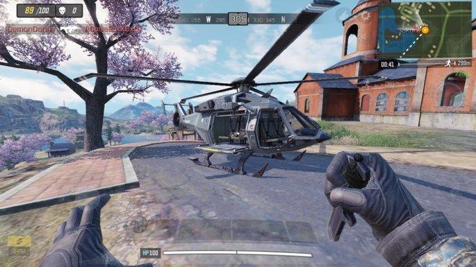 Call of Duty Mobile - Helicóptero - Sakura