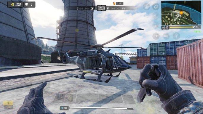 Call of Duty Mobile - Helicóptero - Usina Nuclear