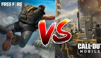 Call of Duty Mobile vs Free Fire: saiba qual o melhor jogo para você!