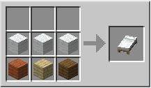 Cama - Minecraft