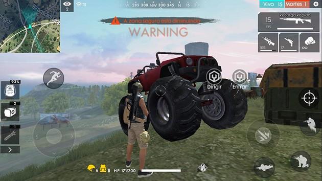 Caminhão Monstro Free Fire