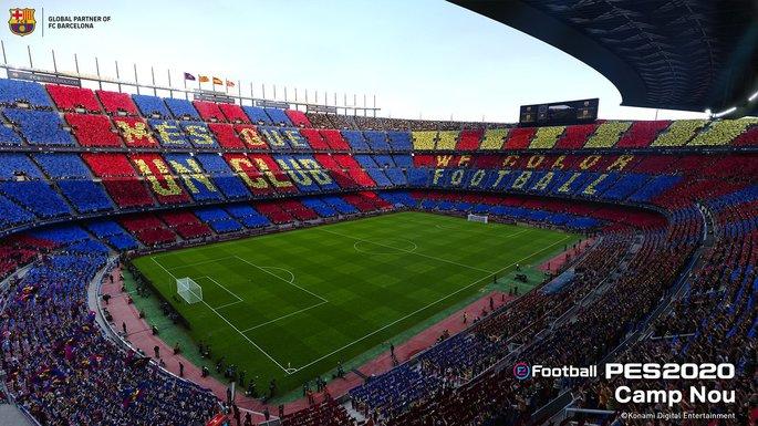 Camp Nou PES 2020