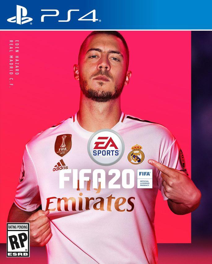 Capa FIFA 20 Hazard