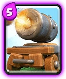 carrinho de canhão