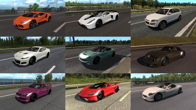 Carros GTA V euro truck mod